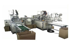 Face Mask Making Machine Manufacturer, Supplier and Exporter in Ahmedabad, Gujarat, India